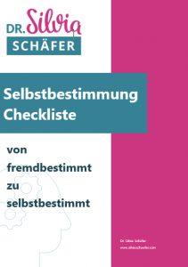 key Visual für das Freebie Selbstbestimmung Checkliste