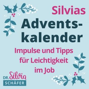 silvia schaefer adventskalender 2020 newsletter anmeldung